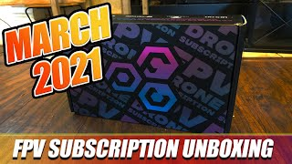 March FPVCRATE | 2021 | Unboxing & Review!