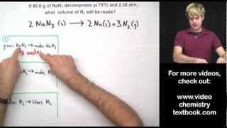 Gas Stoichiometry: Equations Part 2