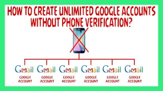 How To Create Multiple Gmail Accounts Without Phone Number Verification 2019 | Make Unlimited Gmail