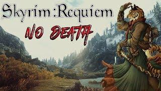 Skyrim - Requiem (без смертей, макс сложность) Каджит-убийца #10 Смертушка