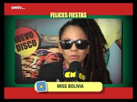 Miss Bolivia video Saludos  - Fiestas 2014
