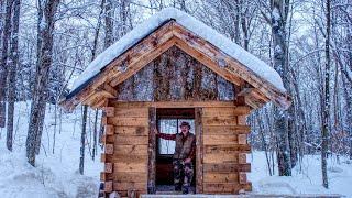 Moja żona i ja usuwamy nową stronę domku z bali poza siatką | Budowa warsztatu