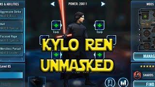 Star Wars: Galaxy Of Heroes - Unmasked Kylo Ren Kit!!