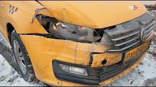 Жуткая авария с машиной скорой помощи на МКАД попала на видео