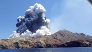 video: New Zealand volcano: British citizens among those missing or injured as five people killed in White Island eruption