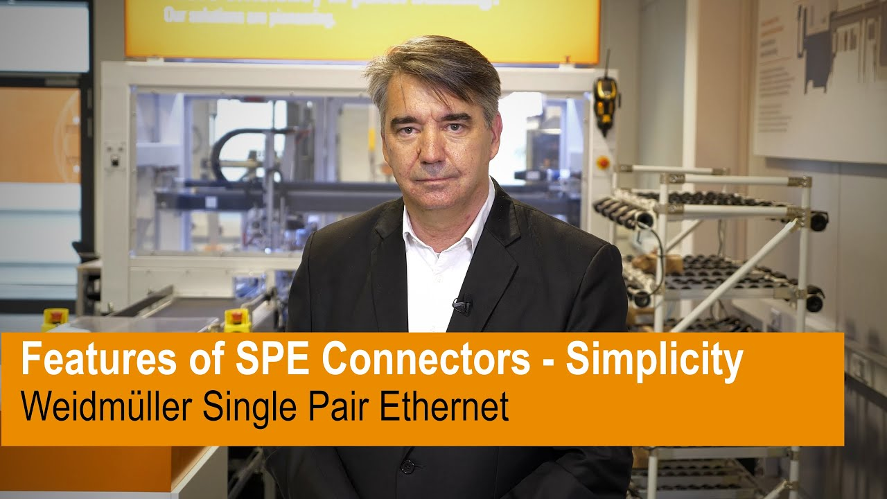 Features of SPE Connectors - Simplicity