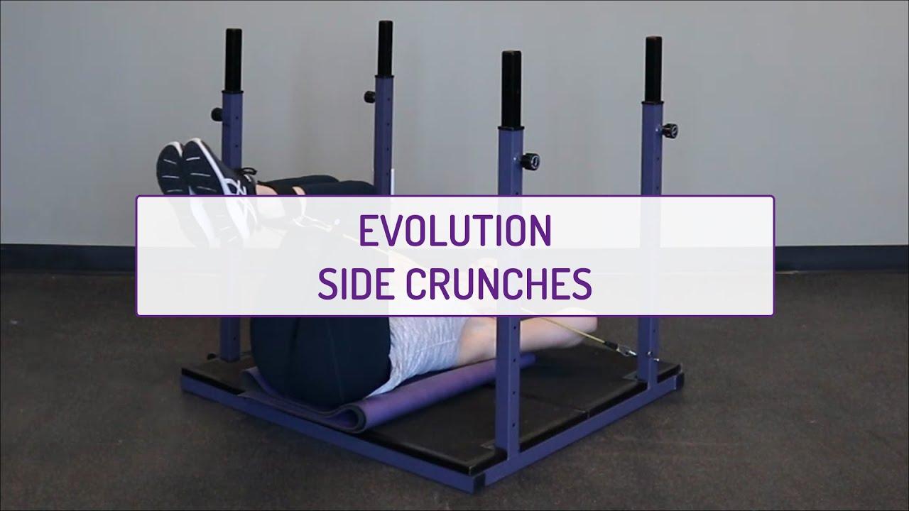 Evolution Side Crunches