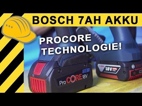 Größter Bosch 18V Akku! Neue 7Ah Procore Akkus von Bosch & Besuch bei Ducati in Bologna | Bauforum24
