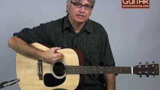 Acoustic Guitar Review   Martin D 1 Review