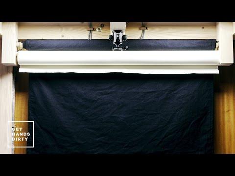 Loft Bed // Work Space : Background Rolls Rack - Ep. 6