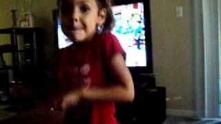 Little Girl Singing Pretty Boy Swag
