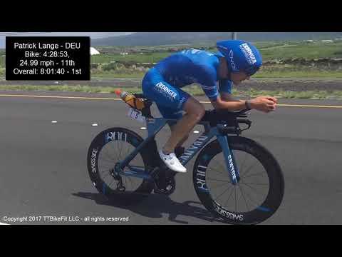 Kona 2017 Ironman Male Pros Bike Super Slo-Mo Mile 110