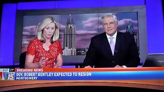 Lee Hedgepeth Discusses Alabama Governor Robert Bentley's Resignation on WPMI Local 15 News
