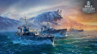 World of Warships. ГазельСпецназ сосать-лежать, в деле🐹