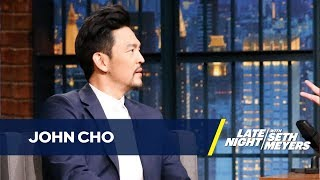 John Cho Always Eats His Lunch in His Underwear While on Set