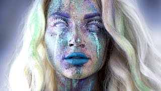 Avant Garde Splatter Makeup Tutorial