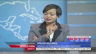 George Morara-Vice Chairman KNHCR on matters extrajudicial killings by police