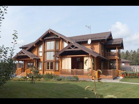Интерьер деревянного дома в стиле классического кантри ПАЛЕКС