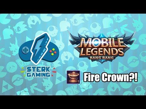 Sterk Gaming: MLBB (Tikam Fire Crown Recall Animation!) | Sterk Production