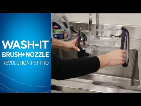 ProHeat 2X® Revolution™ Pet Pro Cleaning Nozzle and Brush Roll Video