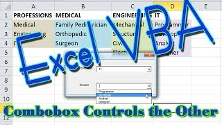 Two Comboboxes VBA Userform