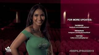 Joanna Rose Tolledo Binibining Pilipinas 2019 Introduction Video