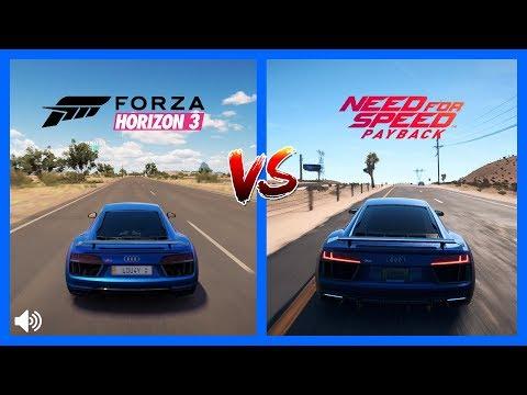 Forza Horizon 3 vs Need For Speed vs The Crew | Graphics
