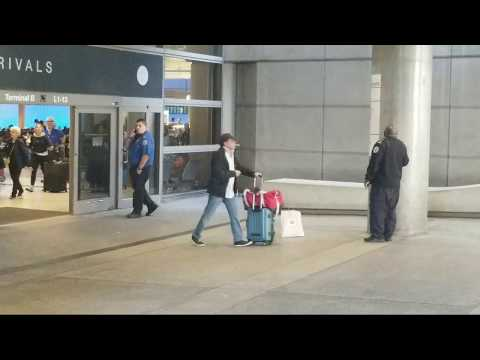 TSA vaping but calls lax airport police on a   Suspicious bag at Los Angeles International Airport