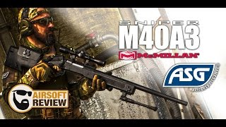 M40A3 MC MILLAN # ACTION SOPRT GAMES / AIRSOFT REVIEW