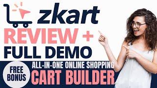ZKart Review and Demo: all in one Online Shopping Cart Builder + Bonus