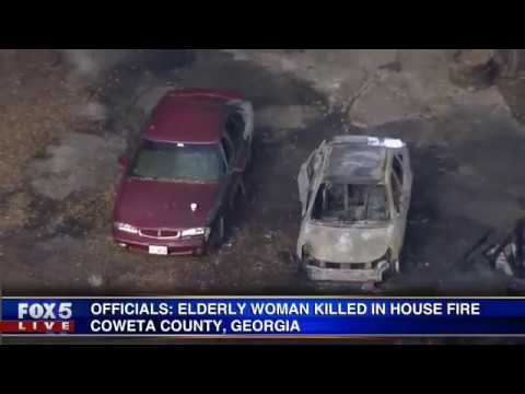 Elderly grandmother killed in house fire