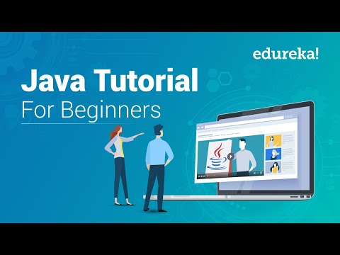 Java Tutorial For Beginners - Step By Step | Java Certification Training