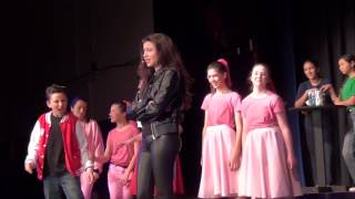 Megan Morales - All Choked Up from Grease the Musical - Sequoia Middle School