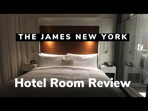 My Room at The James Hotel in New York City