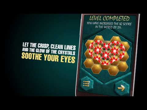 Video of Crystalux puzzle game