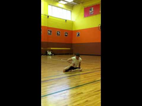 Выступление А.Култынова на чемпионате мира по йога-спорту