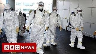 Coronavirus: Korea Południowa odnotowała wzrost potwierdzonych przypadków – BBC News.-Nagranie w j.angielskim