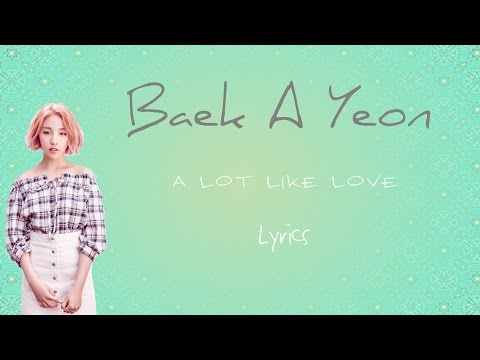 Baek A Yeon- 'A Lot Like Love' (Scarlet Heart: Ryeo OST, Part 7) [Han|Rom|Eng lyrics]