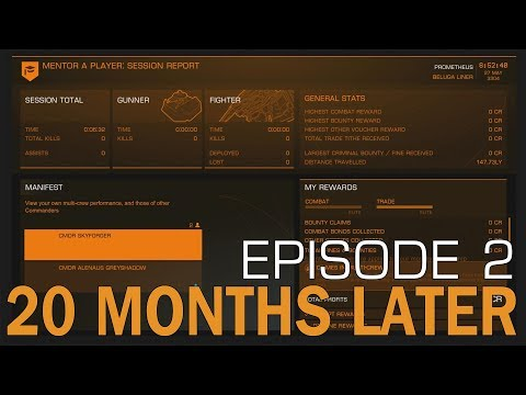 Elite:Dangerous  Passengers  20 Months Later - игровое видео