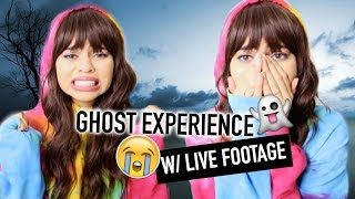 GHOST CAUGHT ON CAMERA! MY PARANORMAL EXPERIENCES ! by Simplynessa15