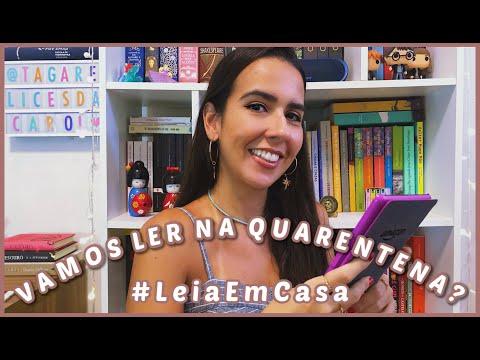 VAMOS LER NA QUARENTENA?  #LEIAEMCASA // VEDA #3 | Ana Carolina Wagner
