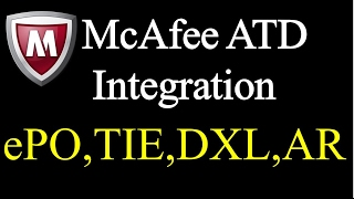 How to McAfee ATD Integration With ePO, TIE, Active Response