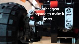 LEGO Technic 9398 4x4 Crawler Modified