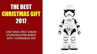 THE BEST CHRISTMAS GIFT 2017 - Star Wars First Order Stormtrooper Robot With Companion App