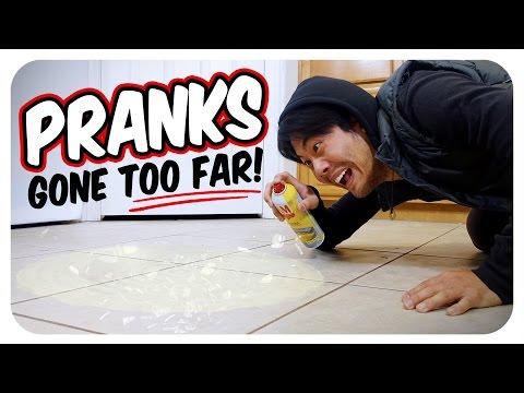 Pranks Gone Too Far! (видео)