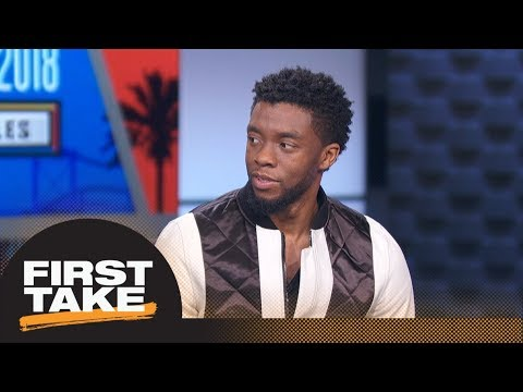 First Take interviews Black Panther star Chadwick Boseman | First Take | ESPN