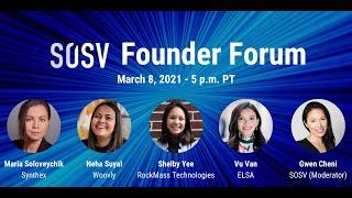 SOSV Founder Forum