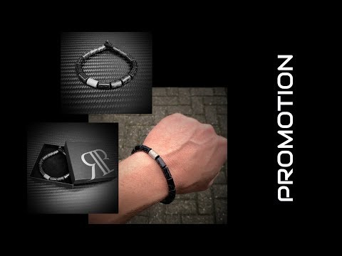 Promotie Carbon Armband by RB EXCLUSIVE