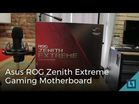 Asus ROG Zenith Extreme Threadripper Gaming Motherboard Review + Linux Test
