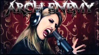 Arch Enemy - Blood On Your Hands (COVERED IN MAJOR KEY BY HAPPY METAL)